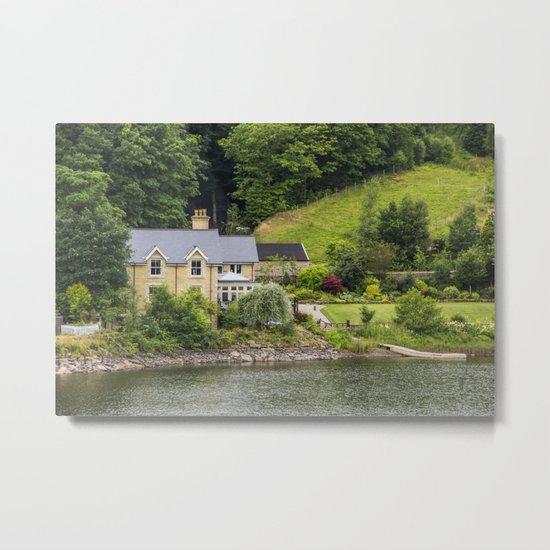 Across the lake Metal Print