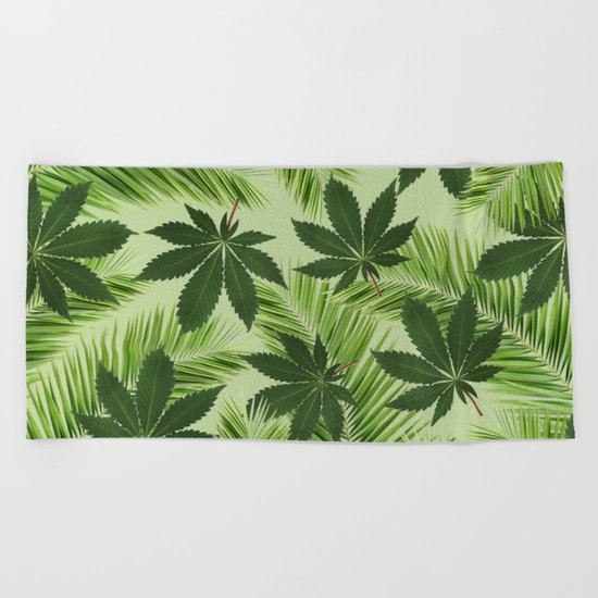 Tropical High Beach Towel