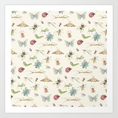 Insects Art Print