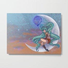 Molly Moon Metal Print