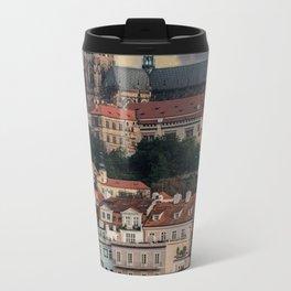 Sunny day in Prague Metal Travel Mug