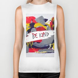 Miniature Original  - be kind Biker Tank