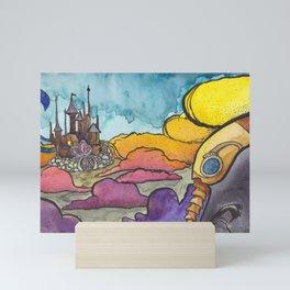 In the Dreamig Mini Art Print