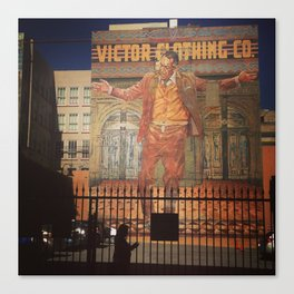 Victor Clothing Co. Canvas Print