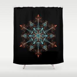 Substance of the Universe Mandala Shower Curtain