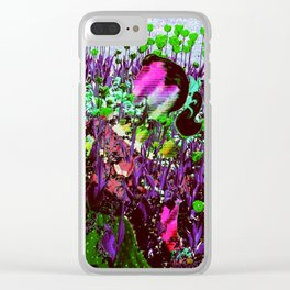 Depths of the Flower Beds Clear iPhone Case