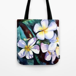 Evening Plumeia Tote Bag