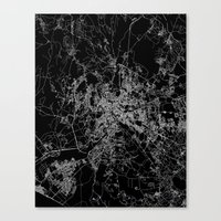 rome Canvas Prints featuring Rome by Line Line Lines