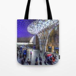 Kings Cross Station London Tote Bag