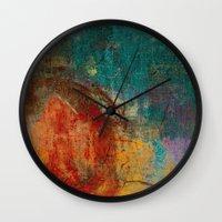 calendars Wall Clocks featuring Othala - Runes Series by Fernando Vieira