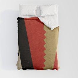 "Lyubov Popova ""Composition (Red-Black-Gold) Comforters"