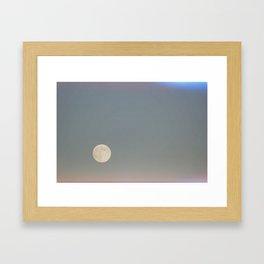 Northwest Moon Framed Art Print