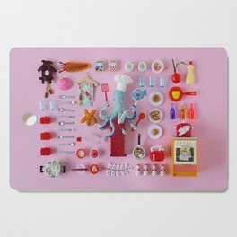 Miniature Collage: Cooking Cutting Board