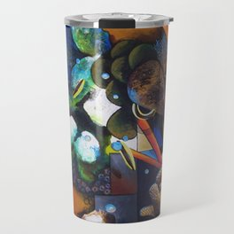 Cosmic Gridding Travel Mug