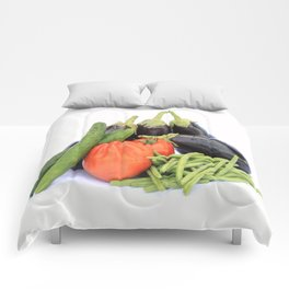 Vegetables together Comforters
