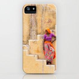 Amber Stepwell II, Rajasthan, India iPhone Case
