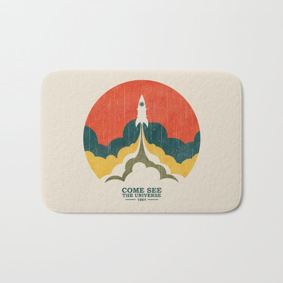 Come See The Universe Bath Mat