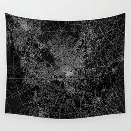 raleigh map north carolina Wall Tapestry