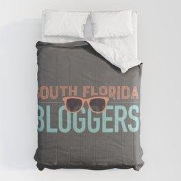 South Florida Bloggers Logo Comforters
