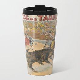 Vintage poster - Course de Taureaux Travel Mug