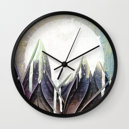 My magical beans garden Wall Clock