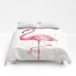 A Flamingos Fancy Comforters