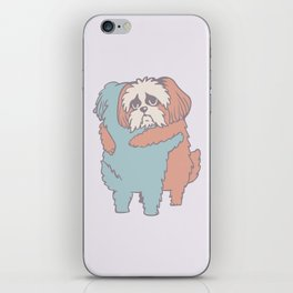 Shih Tzu Hugs iPhone Skin