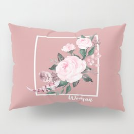 Woman Pillow Sham