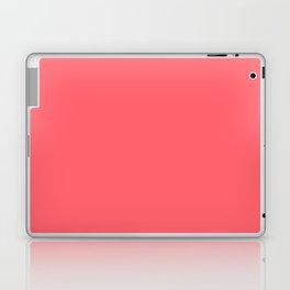 Coral Red Laptop & iPad Skin