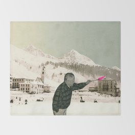 The Painter Throw Blanket