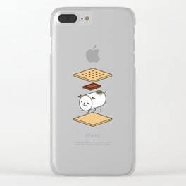 a very good s'more Clear iPhone Case
