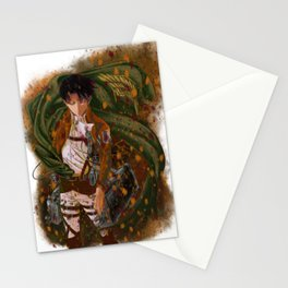 Attack On Titan - Levi Ackerman (Version 5/5) Stationery Cards