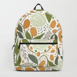 Lemon and Roses Backpack