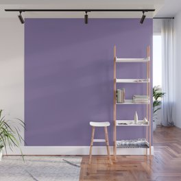 Solid Colors Series - Pale Blue Violet Wall Mural