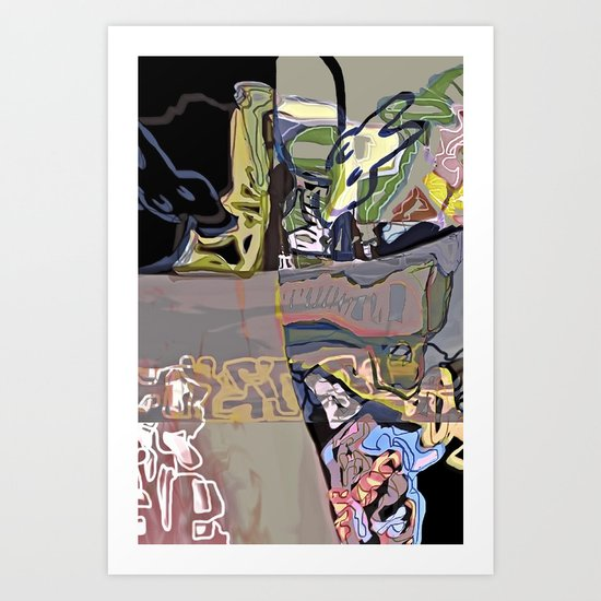 playgrounds of colour V Art Print