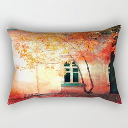 Season of Fire Rectangular Pillow