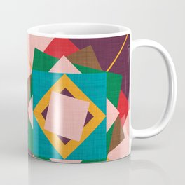 wind rose yellow Coffee Mug
