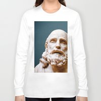 philosophy Long Sleeve T-shirts featuring Philosophy of Pleasure by youngkinderhook