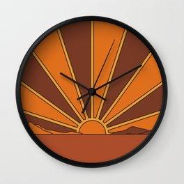 Sun Dreamer Wall Clock
