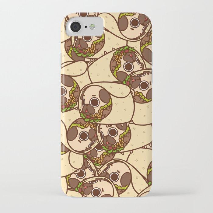 puglie burrito iphone case