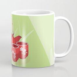 Red Tea Set Coffee Mug