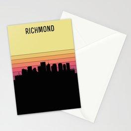 Richmond Skyline Stationery Cards