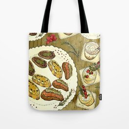 Holiday Hors D'oeuvre Tote Bag