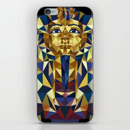 Golden Tutankhamun - Pharaoh's Mask iPhone Skin