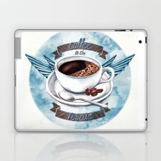 Coffee To The Rescue Laptop & iPad Skin