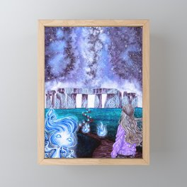 To the Unknown Framed Mini Art Print