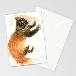 Japanese Marten Tsushima Island Stationery Cards