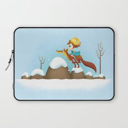 The quick brown fox jumps Laptop Sleeve
