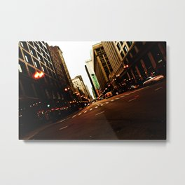 the Mag Mile Metal Print