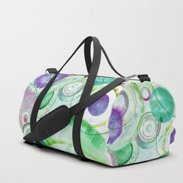 We Are All Connected Duffle Bag